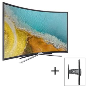 Pack SAMSUNG TV LED UE55K6350AKXZF - Ecran incurvé Full HD 138cm (55'') - Smart TV+ INOTEK PRO M1 3265 Support TV mural 32\