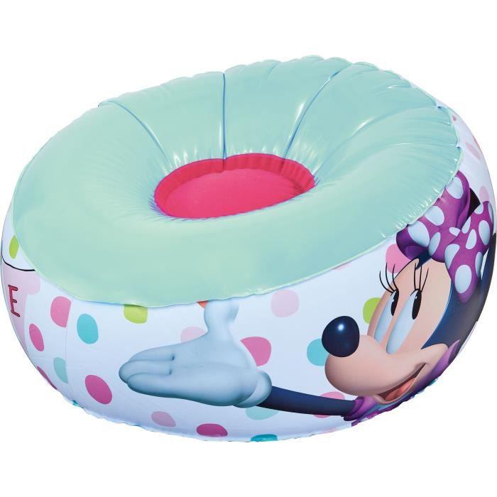 MINNIE MOUSE Fauteuil gonflable pour enfant