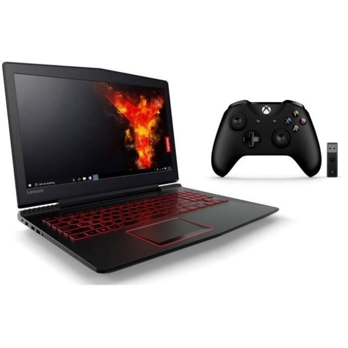 Lenovo pc portable gamer legion y520 15ikbn 15fhd ram 8go i5 7300hq stockage 128go ssd 1to gtx1050 manette xbox one