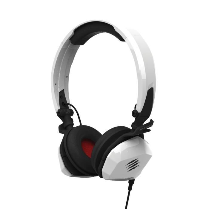 MAD CATZ MOBILE Casque FREQ M - Gloss White
