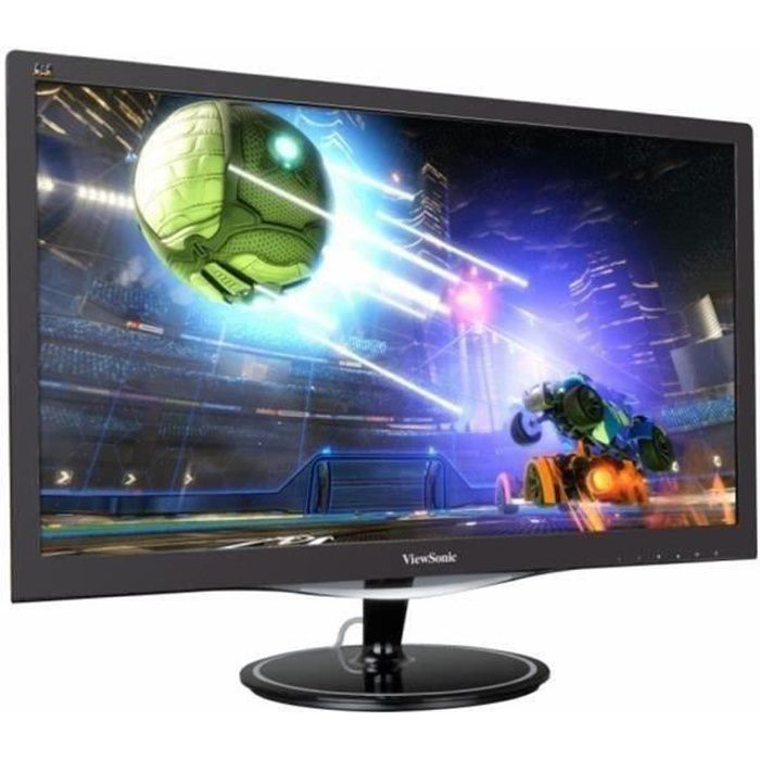 VIEWSONIC VX2457 - Ecran 24 pouces FHD - Dalle TN - 1 ms - 75Hz - DisplayPort / VGA / HDMI