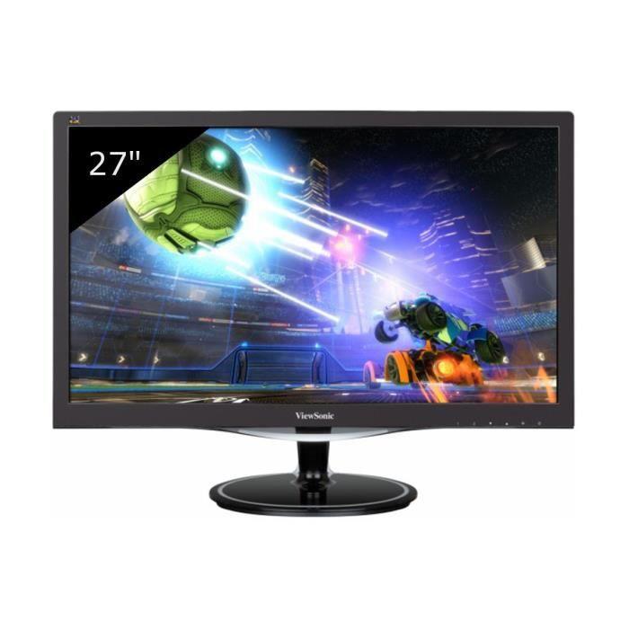 ViewSonic écran LED multimédia Full HD 27- VX2757-MHD