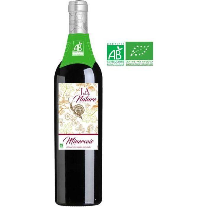 Jean d'Alibert Nature Bio 2017 Minervois et La Livinière - Vin Rouge du Languedoc-Roussillon