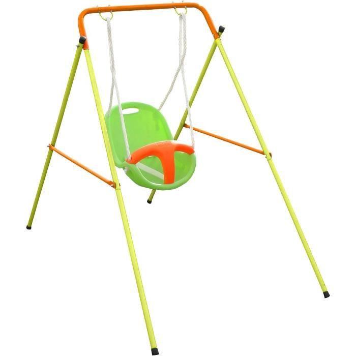 Portique métal - pour bébé - avec siège coque - BABY'K EMMA TRIGANO