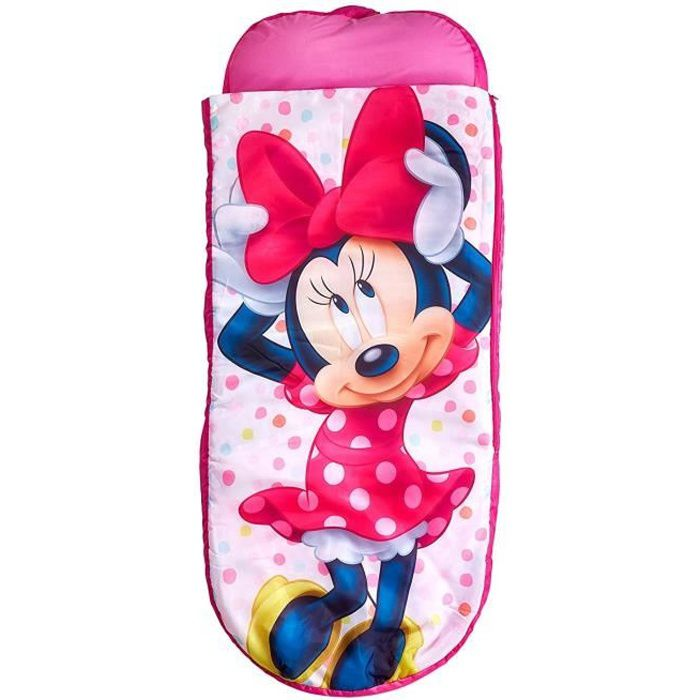MINNIE Lit d'Appoint / Sac de couchage enfant avec sac de transport ReadyBed - Worlds Apart
