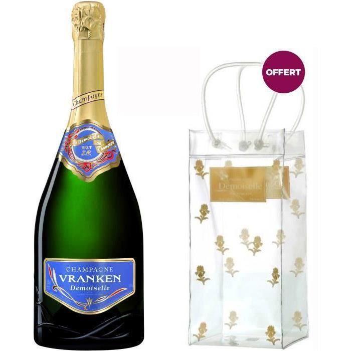 Champagne Demoiselle Brut + 1 Ice Bag Demoiselle OFFERT