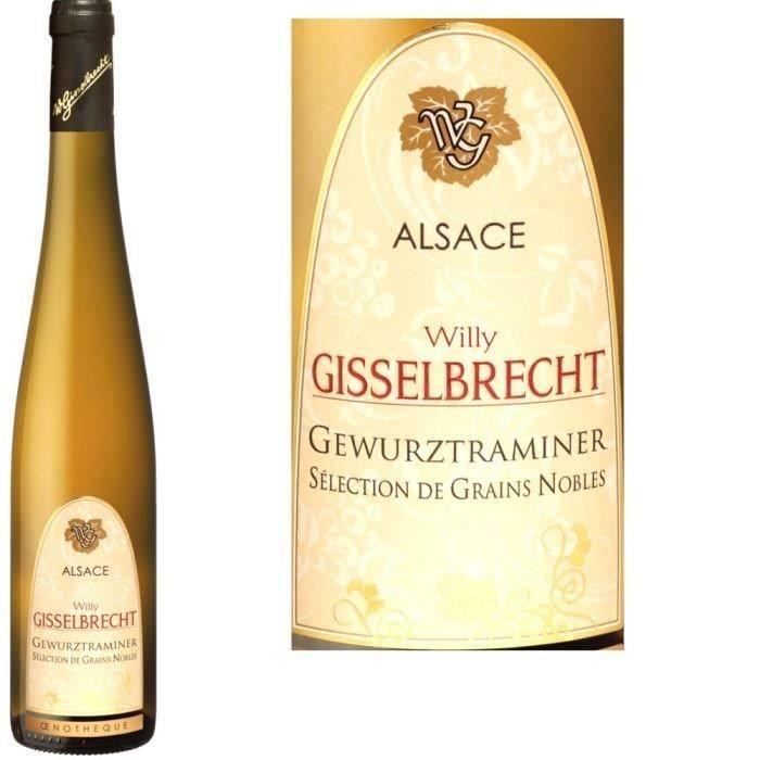 Gisselbrecht 2011 Gewurztraminer Grains nobles - Vin blanc d'Alsace