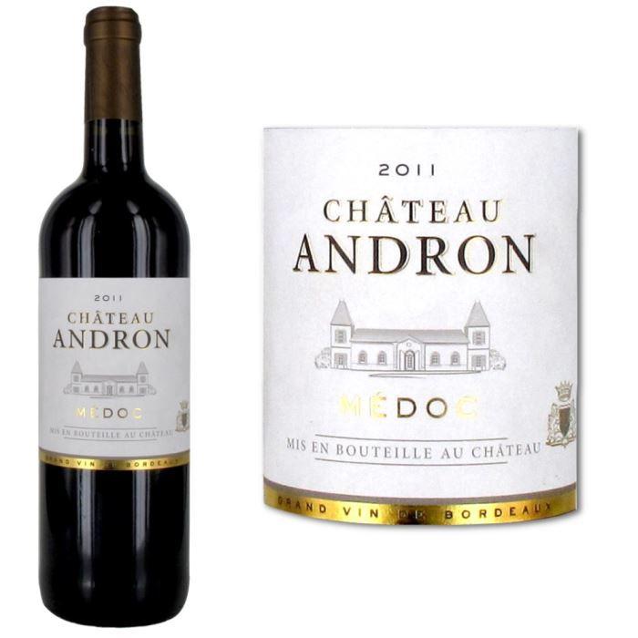 Château Andron 2011 Médoc - Vin rouge de Bordeaux