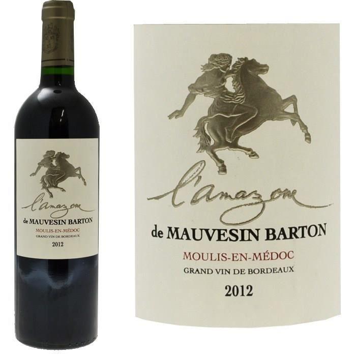 L'Amazone de Mauvesin Barton 2012 Moulis-En-Médoc - Vin rouge de Bordeaux