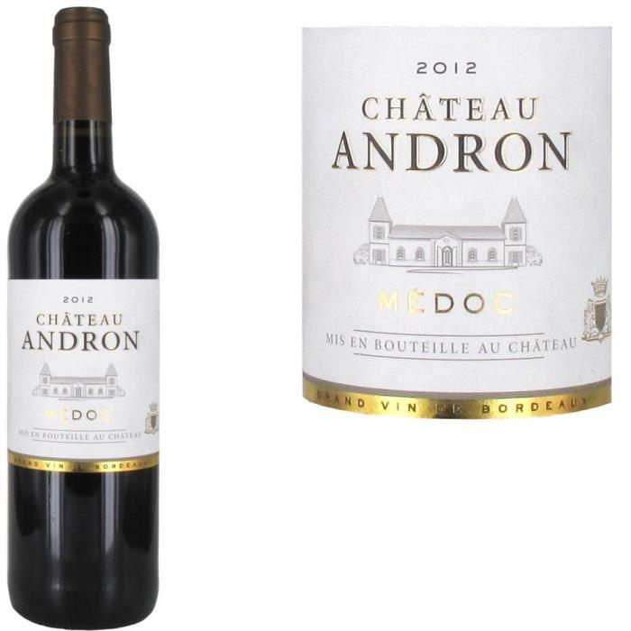 Château Andron 2012 Médoc - Vin rouge de Bordeaux