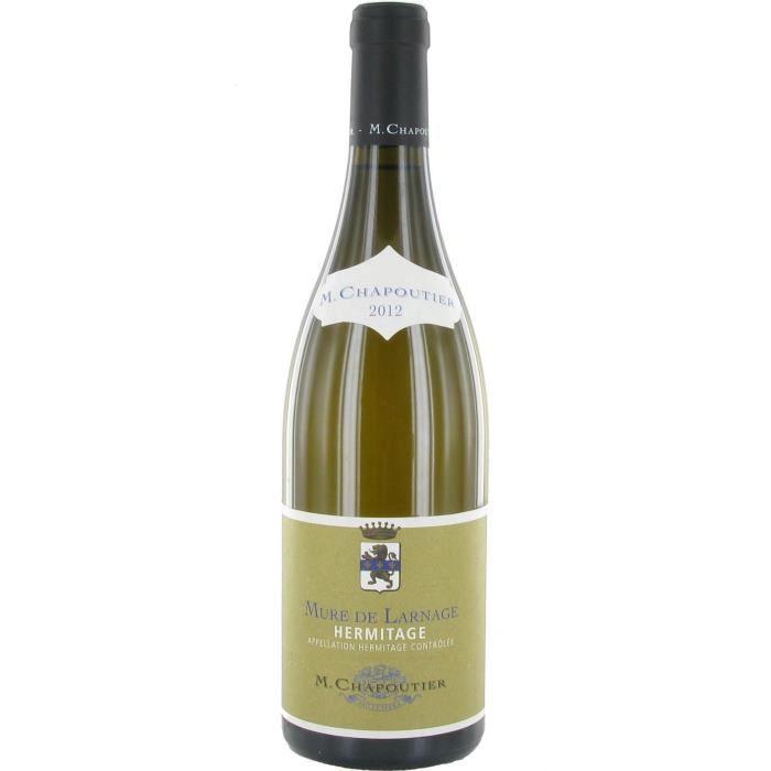 M. Chapoutier Mûre de Larnage 2012 Hermitage - Vin blanc de la Vallée du Rhône