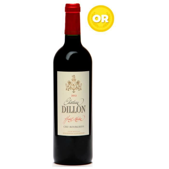Château Dillon 2012 Haut Médoc - Vin rouge de Bordeaux