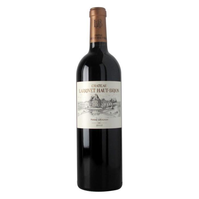 Château Larrivet Haut Brion 2012 Pessac Léognan - Vin rouge de Bordeaux