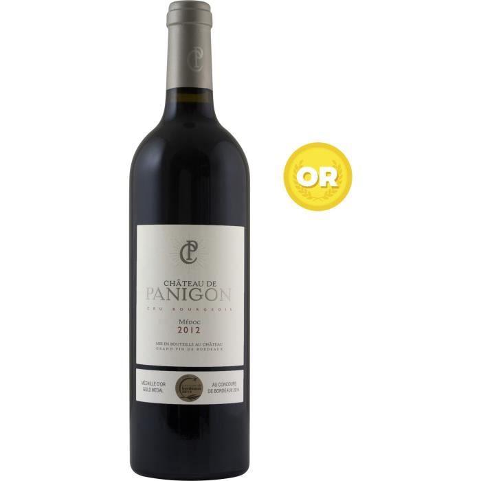 Château de Panigon 2012 Médoc Cru Bourgeois - Vin rouge de Bordeaux