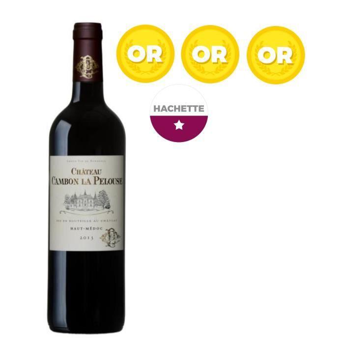 Château Cambon La Pelouse 2013 Haut Médoc Cru Bourgeois - Vin rouge de Bordeaux