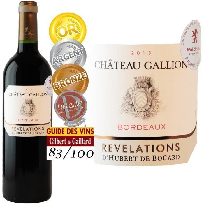 Château Gallion 2013 Bordeaux - Vin rouge de Bordeaux