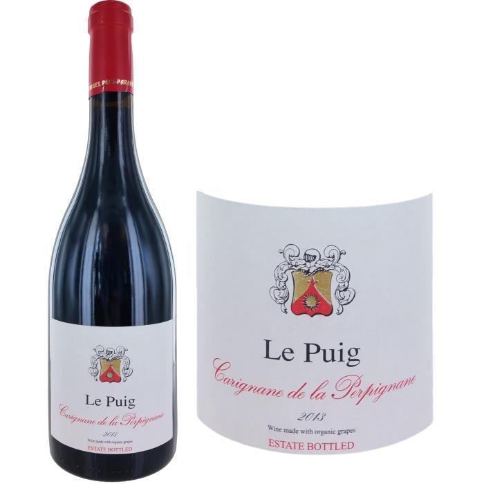 Le Puig Carignane de la Perpignane2013 Côtes du Roussillon- Vin rouge du Languedoc Roussillon