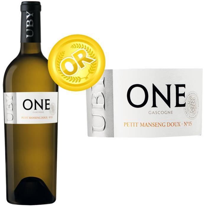 Domaine Uby 2016 Petit Manseng - Vin blanc des Côtes de Gascogne