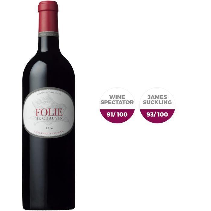 Folie de Chauvin 2014 Saint-Emilion Grand Cru - Vin rouge de Bordeaux