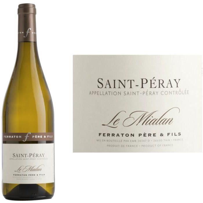 Domaine Ferraton -Le Mialan- St Peray 2014 vin ...