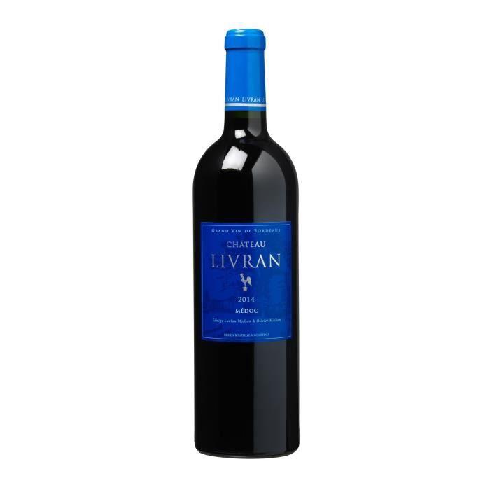 Château Livran 2014 Médoc - Vin rouge de Bordeaux
