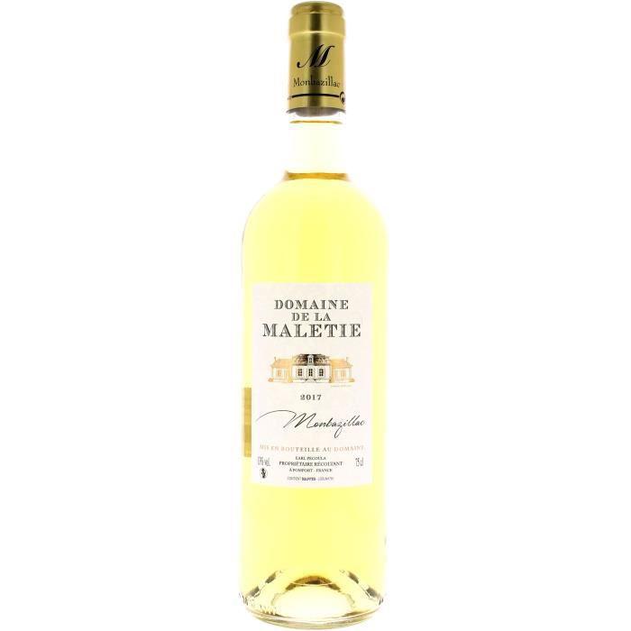 Domaine de la Maletie 2014 Monbazillac - Vin blanc du Sud-Ouest