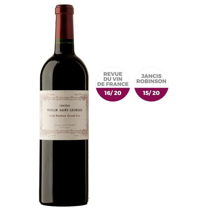 Château Moulin Saint Georges 2014 Saint Emilion Grand Cru - Vin rouge de Bordeaux