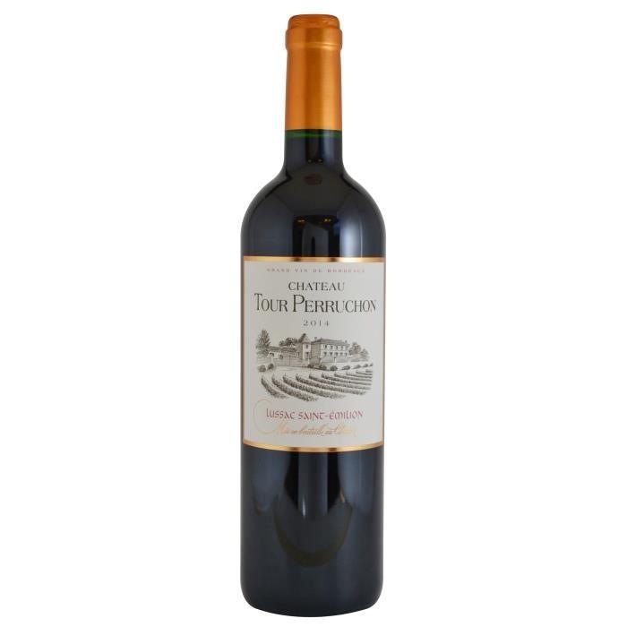 Château Tour Perruchon 2014 Lussac Saint-Emilion - Vin rouge de Bordeaux