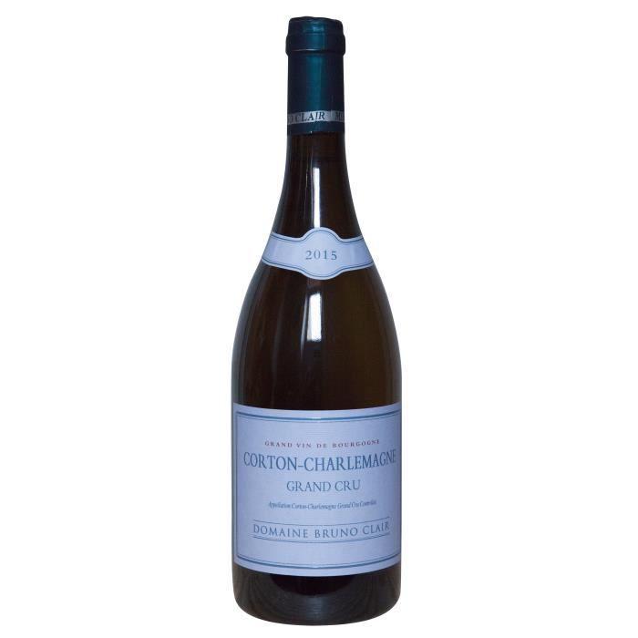 Domaine Bruno Clair 2015 Corton-Charlemagne Grand Cru - Vin blanc de Bourgogne