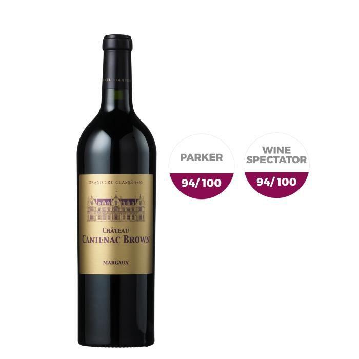 Château Cantenac Brown 2015 Margaux - Vin rouge de Bordeaux