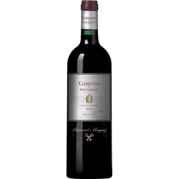 Clémentin de Pape Clément 2015 Pessac-Léognan - Vin rouge de Bordeaux