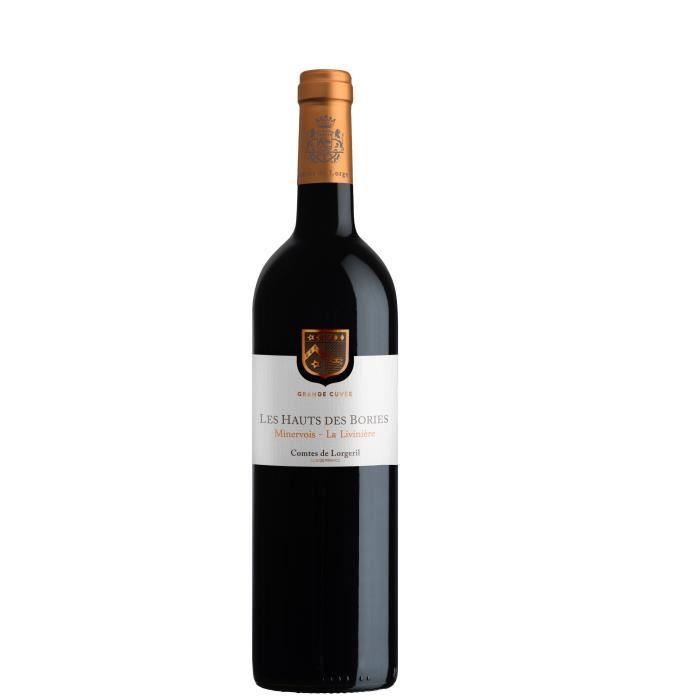 Les Hauts des Bories Grande cuvée 2015 Minervois La Livinière - Vin rouge du Languedoc Roussillon