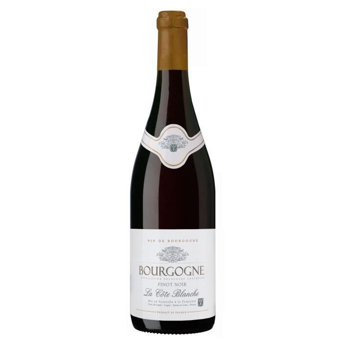 Cave de Lugny Bourgogne Pinot Noir 2019 - Vin rouge