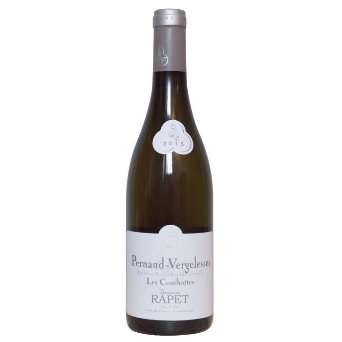 Domaine Rapet Père & Fils 2015 Pernand-Vergelesses Les Combottes - Vin blanc de Bourgogne