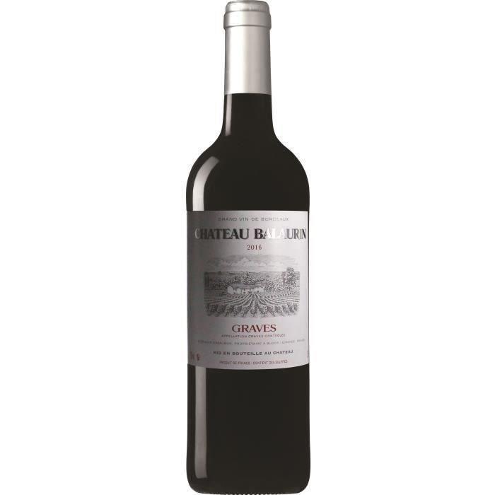 Château Balaurin 2016 Graves - Vin rouge de Bordeaux