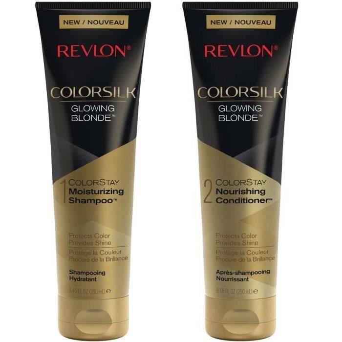 REVLON Duo Cheveux Blonds : Shampoing + Après-shampoing