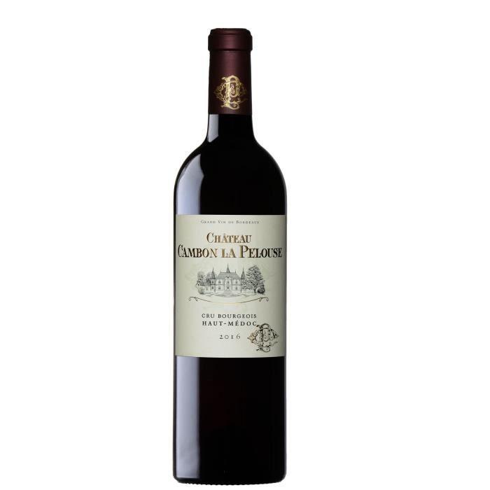 Château Cambon La Pelouse 2016 Haut-Médoc Cru Bourgeois - Vin rouge de Bordeaux