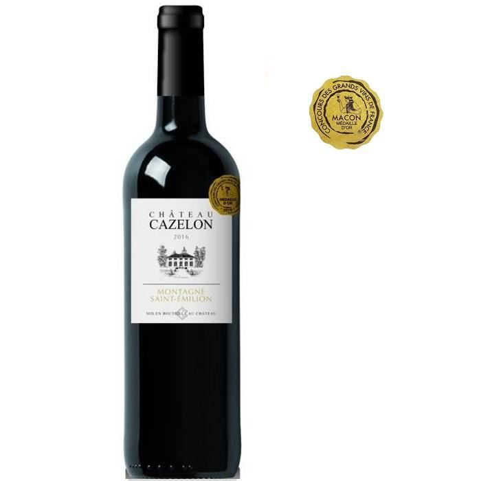 Château Cazelon 2016 Montagne Saint-Emilion - Vin Rouge du Bordelais