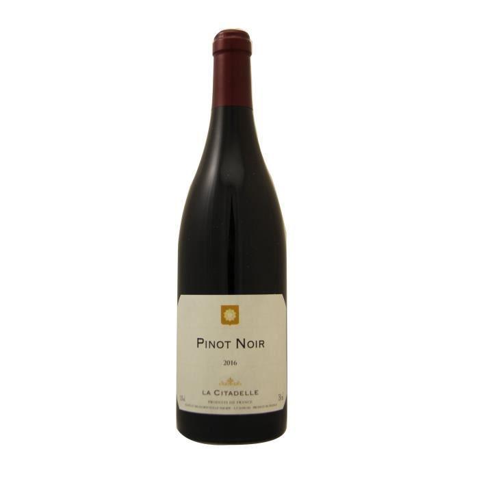 La Citadelle 2016 Pinot Noir - Vin de France rouge