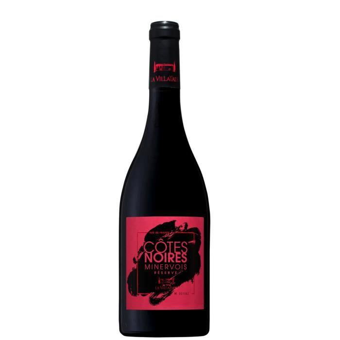 Côtes Noires Réserve 2016 Minervois - Vin rouge du Languedoc-Roussillon
