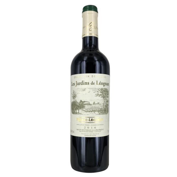 Les Jardins de Léognan 2016 Pessac Léognan - Vin rouge de Bordeaux