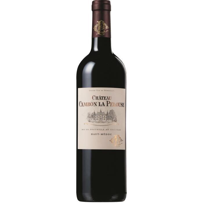 Château Cambon La Pelouse 2017 Haut-Médoc - Vin rouge de Bordeaux