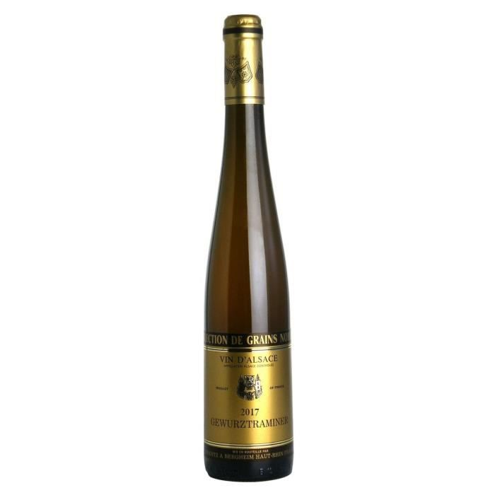 Gustave Lorentz 2017 Gewurztraminer Grains Nobles - Vin blanc d'Alsace - Bio
