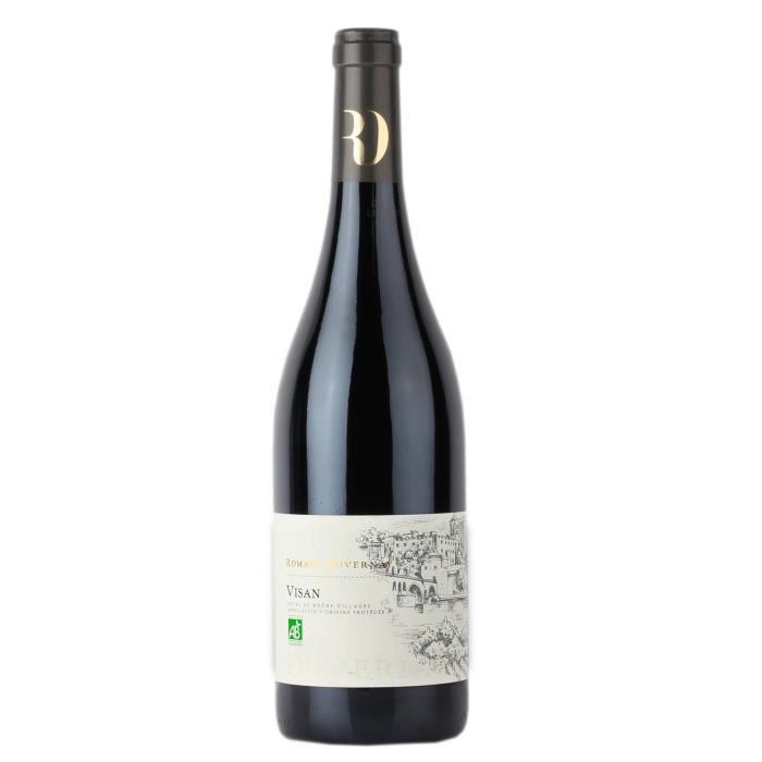 Romain Duvernay 2017 Côtes du Rhône Villages Visan - Vin rouge de la Vallée du Rhône Bio
