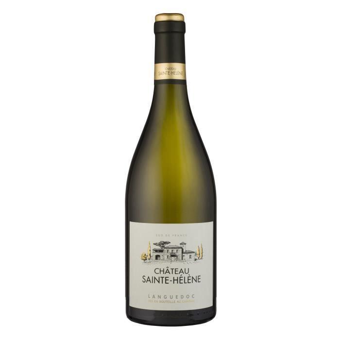 Château Saint-Hélène 2018 Languedoc - Vin blanc du Languedoc-Roussillon