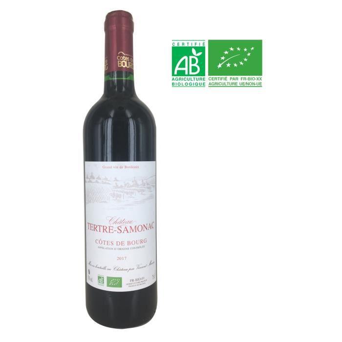 Château Tertre-Samonac 2017 Côtes de Bourg - Vin Rouge de Bordeaux - Bio