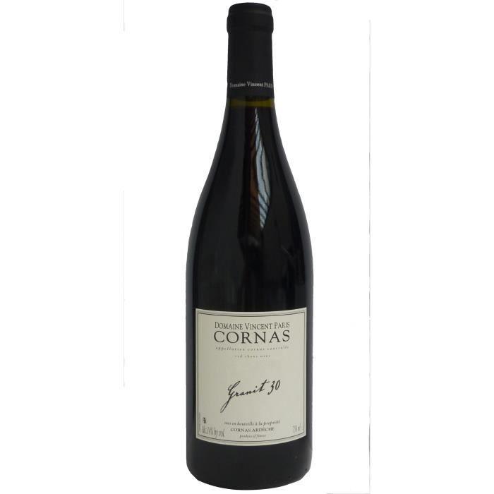 Domaine Vincent Paris Granit 30 2017 Cornas - Vin rouge de la Vallée du Rhône