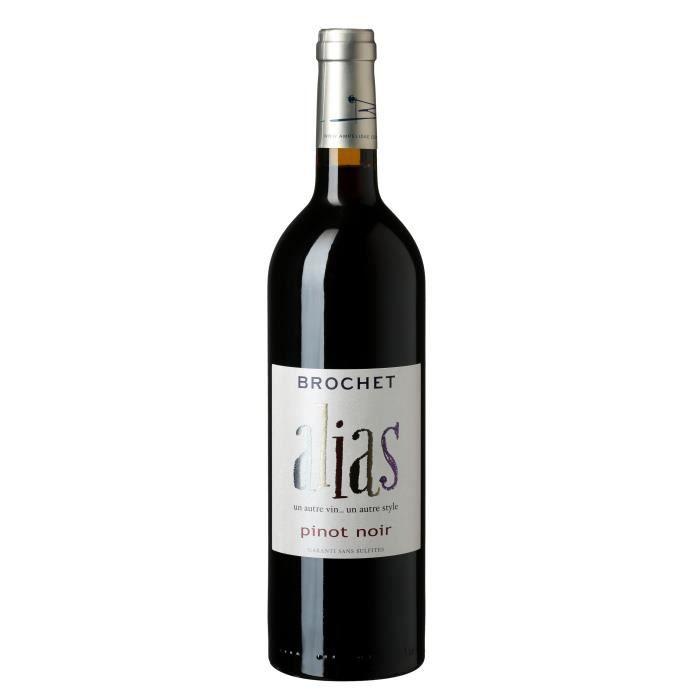 Alias Pinot Noir 2018 Val de Loire - Vin rouge de la Vallée de la Loire - Bio