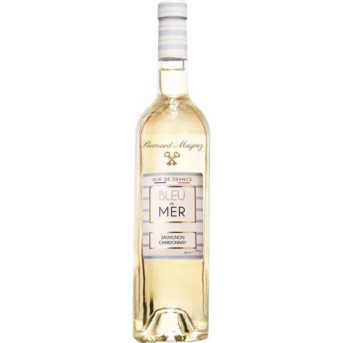 BERNARD MAGREZ Bleu de Mer Vin Blanc Sud de France