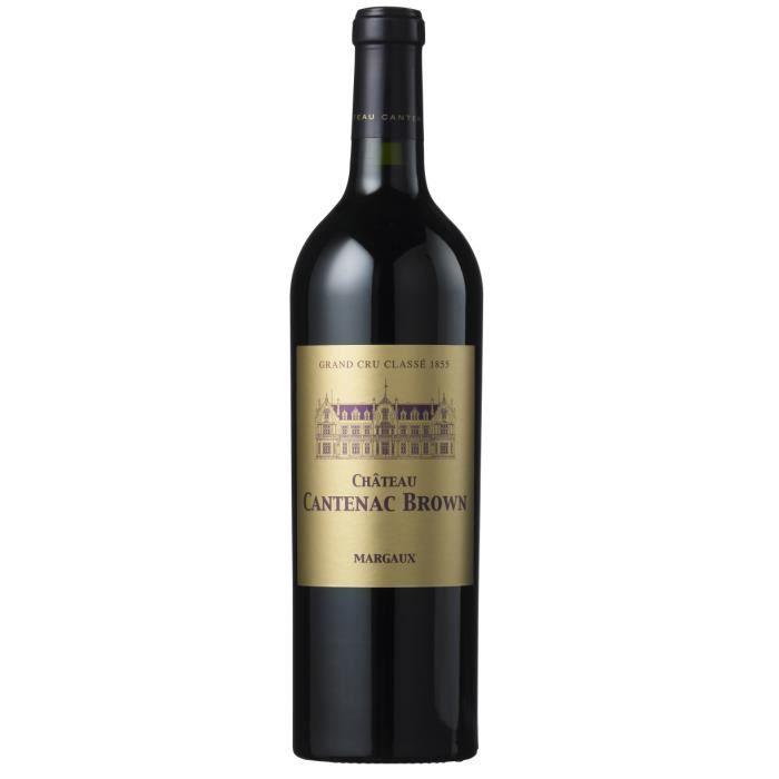 Château Cantenac Brown 2018 Margaux - Vin rouge de Bordeaux